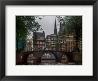 Framed Amsterdam Bridge
