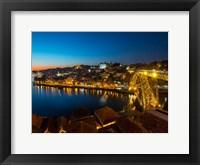 Framed Portugal Porto Bridge