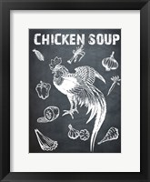 Framed Chicken Soup