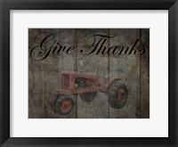 Framed Tractor