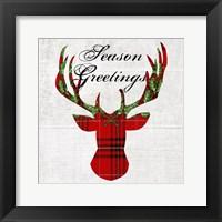 Framed Hello Deer