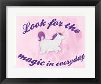 Framed Unicorn Magic