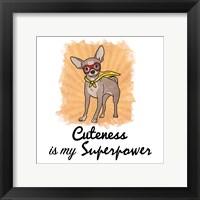 Framed Superpowered Cuteness