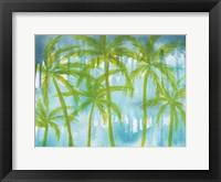 Framed Rainy Paradise