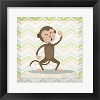 Framed Monkey Time
