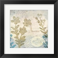 Framed Botanical Postale 2