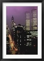 Framed Purple Skies
