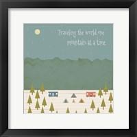 Framed Traveling the World