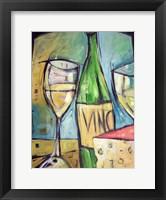 Framed Vin Et Fromage