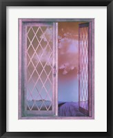 Framed Lavender Cottage