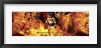 Framed Fireman's Noble Call