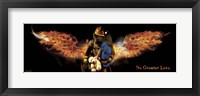 Framed No Greater Love Fireman Rescue