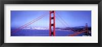 Framed S.F. Golden Gate Bridge