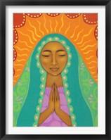 Framed Virgin de Guadalupe