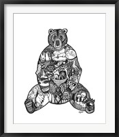Framed Goodbye Bear