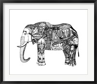 Framed Goodbye Elephant