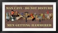 Framed Hammered