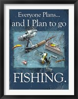 Framed Plan to Fish