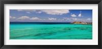 Framed Caribbean Waters