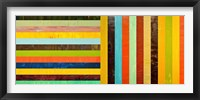 Framed Panel Abstract - Digital Compilation