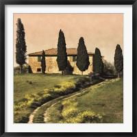 Framed Tuscan Farmhouse