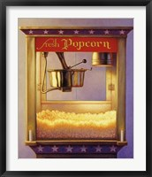 Framed Fresh Popcorn