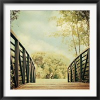 Framed Bridge to Paradise