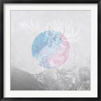 Framed Moose 2