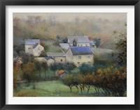 Framed Countryside Hamlet