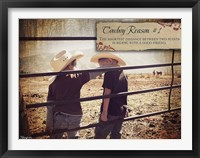 Framed Cowboy Reason I