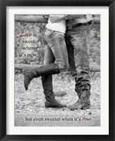 Framed Love is Sweet