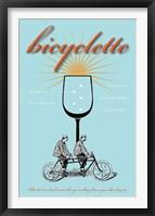Framed Bicyclette Recipe