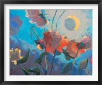 Framed Dahlia Moonglow