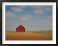 Framed In a Golden Field