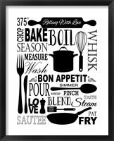 Framed Culinary Love 1