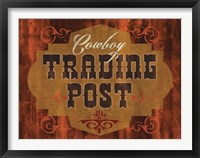 Framed Trading Post