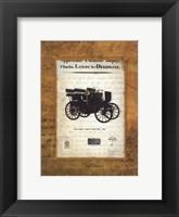 Framed Holtzer-Cabot 1895