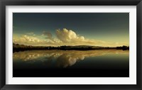Framed Cloud Reflection