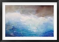 Framed Ombre Blue