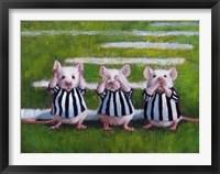 Framed Three Blind Mice