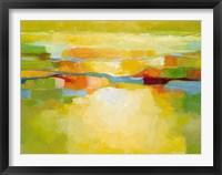 Framed Greener Pastures