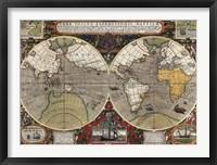 Framed Vera Totius Expeditionis Nauticae