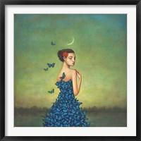 Framed Metamorphosis in Blue