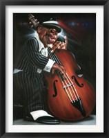 Framed Jazzman D