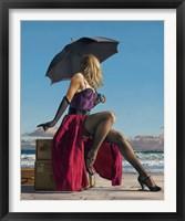 Framed On Crescent Beach