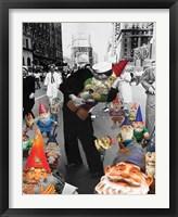 Framed Garden Gnomes - VJ Day