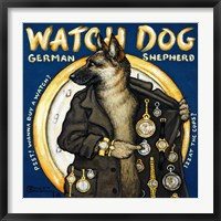 Framed Watch Dog