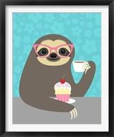 Framed Diva Sloth