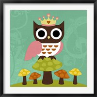 Framed Princess Owl
