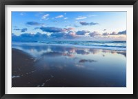 Framed Blue Shores